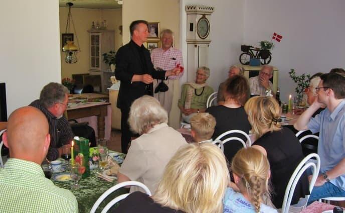 70 års fest i stuen
