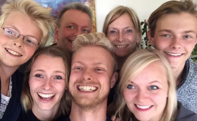 Peters familie