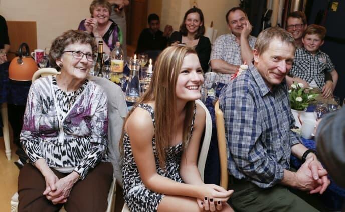 glade gæster til fødselsdagsfest