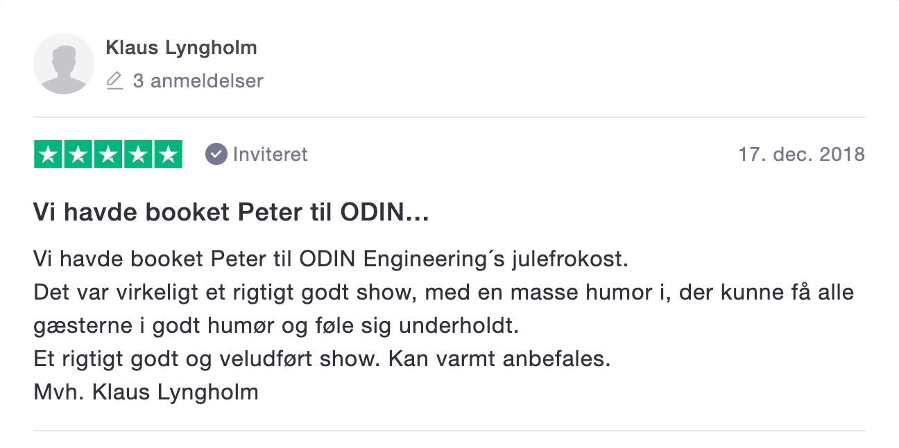 Odins julefrokost